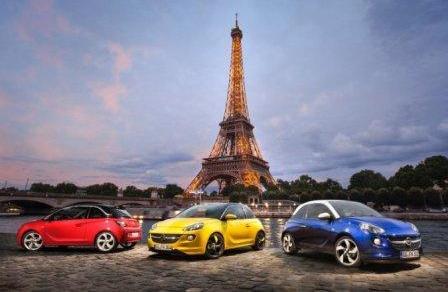 na avtomobile po Francii