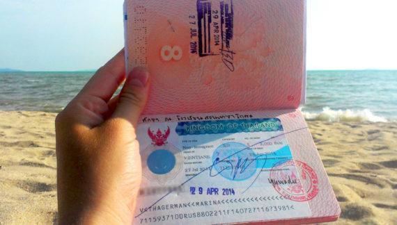 Таиланд временно отменил плату за выдачу виз