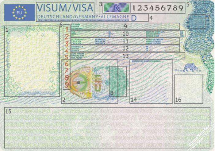 Дизайн шенгенской визы будет изменен