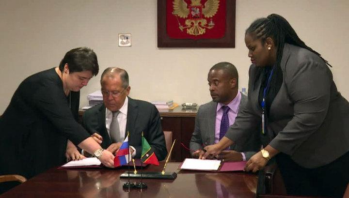 Россия Сент-Китс и Невис отменили визовый режим друг с другом
