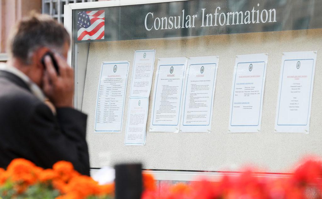 Госдеп США опубликовал данные статистики по отказным визам для российских граждан