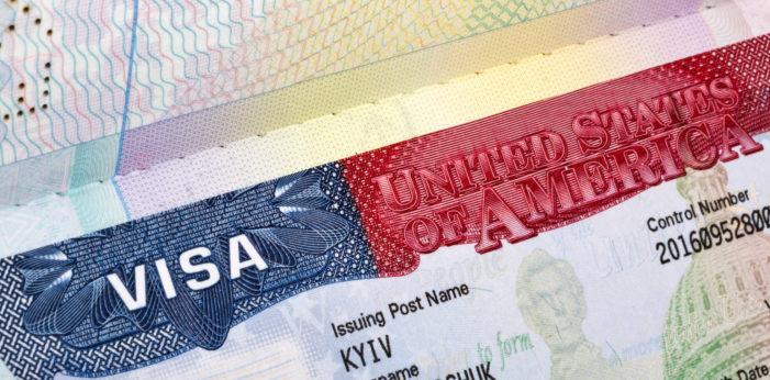 Виза в США украинцам