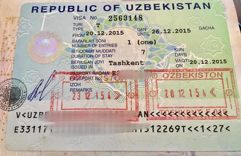 Руководство Узбекистана ввело в стране единую туристическую визу