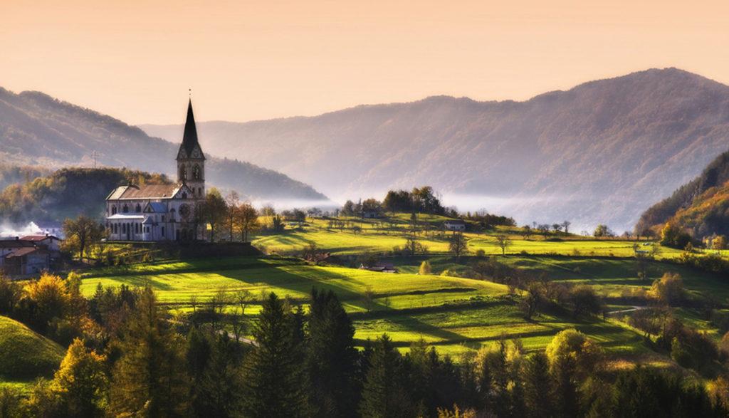 Эксперты в области туристической области отметили повышение интереса туристов к Словении