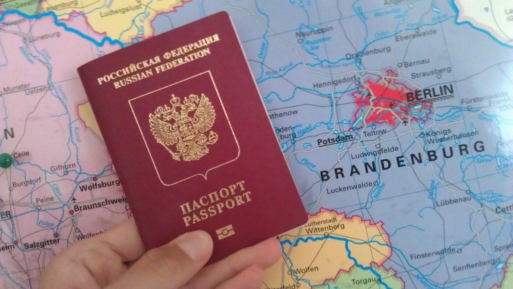 Возросло количество российских граждан, получающих визы в Германию
