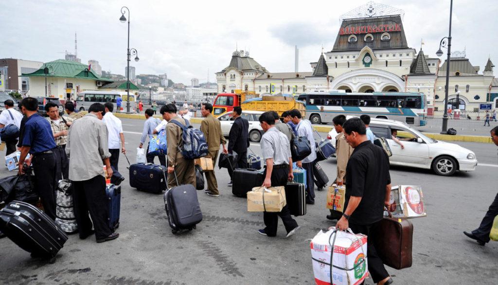 Трудовых мигрантов из Северной Кореи отправляют обратно на Родину