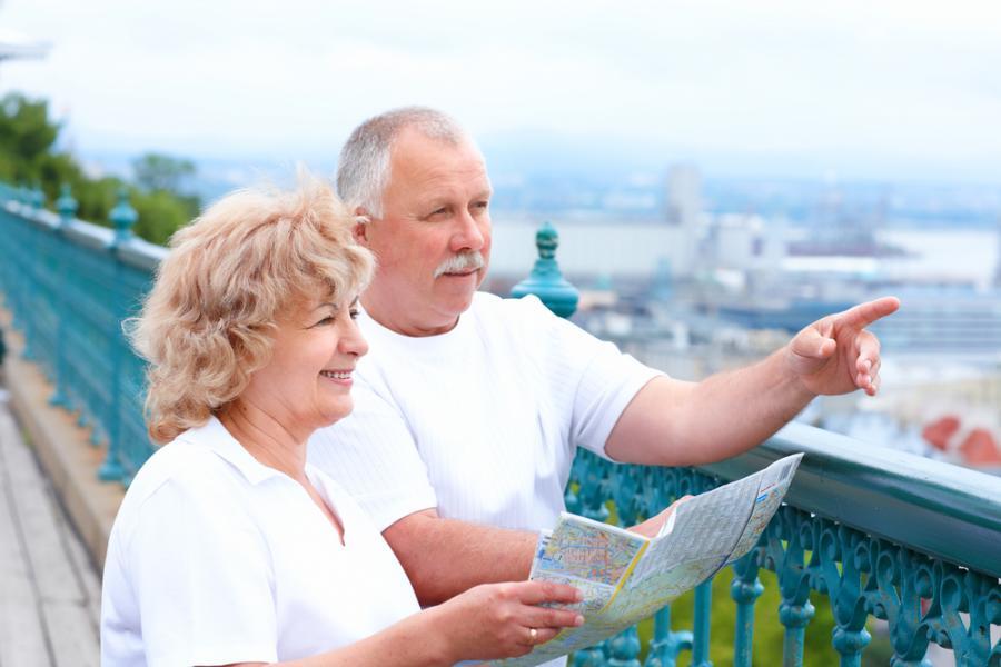 Русские пенсионеры стали чаще выезжать на отдых