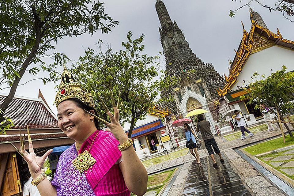 Таиланд временно освободил туристов от визового сбора