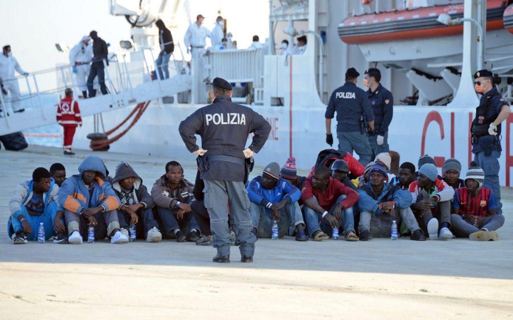 В период с 2012 по 2018 год произошло резкое снижение потока мигрантов на территорию Италии