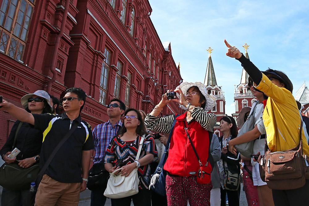 Китайские туристы активнее посещали Россию на протяжении 2018 года
