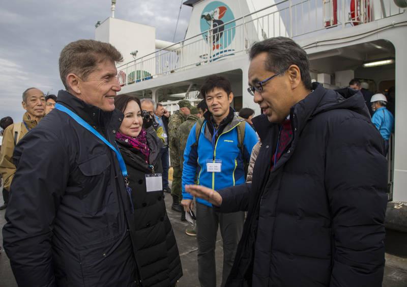 Японским туристам разрешено безвизовое посещение Курильских островов