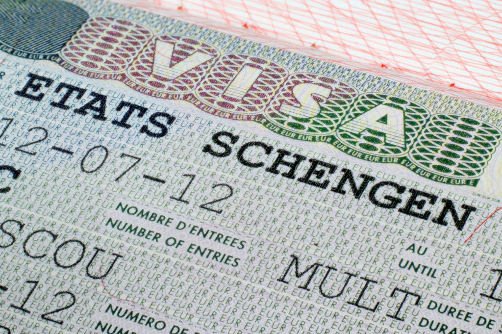 Анализ: выдача Шенгена в 2018 по разным странам