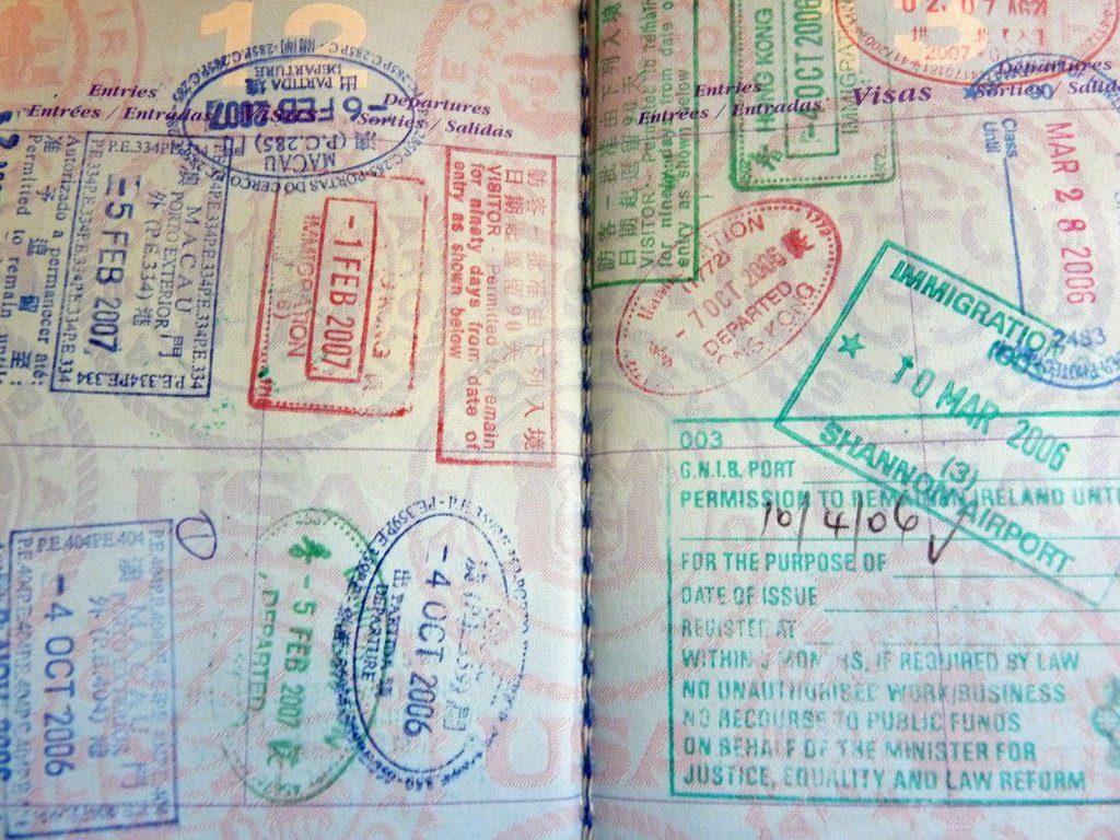 Планируется отмена штампов в загранпаспорта при поездке в страны Евросоюза