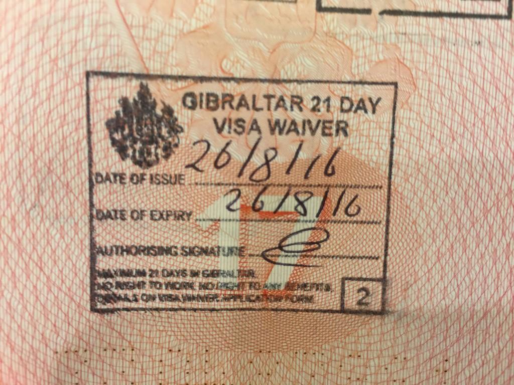 Визы для путешествия на Гибралтар