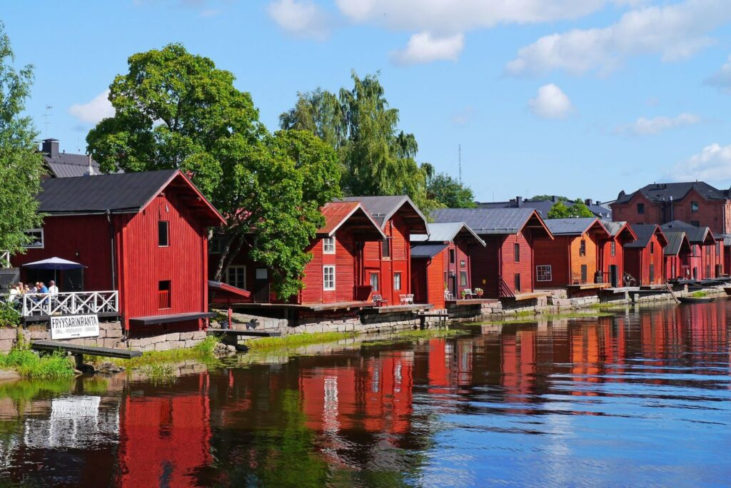 Финляндия: страна тысячи озер