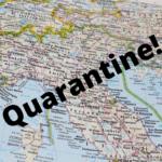 Подробности европейской жизни в условиях карантина
