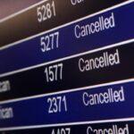 Отмена рейсов «Аэрофлота» в августе