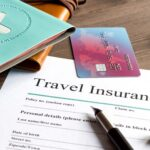 Полис, виза, чемодан